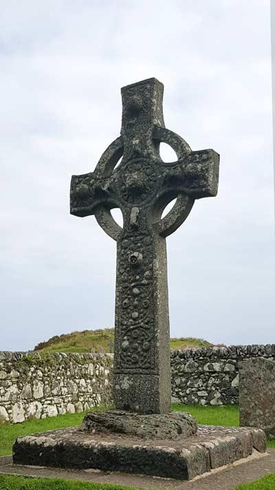 Das frühchristliche Kidalton Cross aus dem 8. Jahrhundert steht im Süden der Insel Islay.