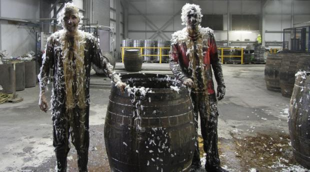 """The Blackening"" – alte Tradition bei den Whiskyfass-Machern"