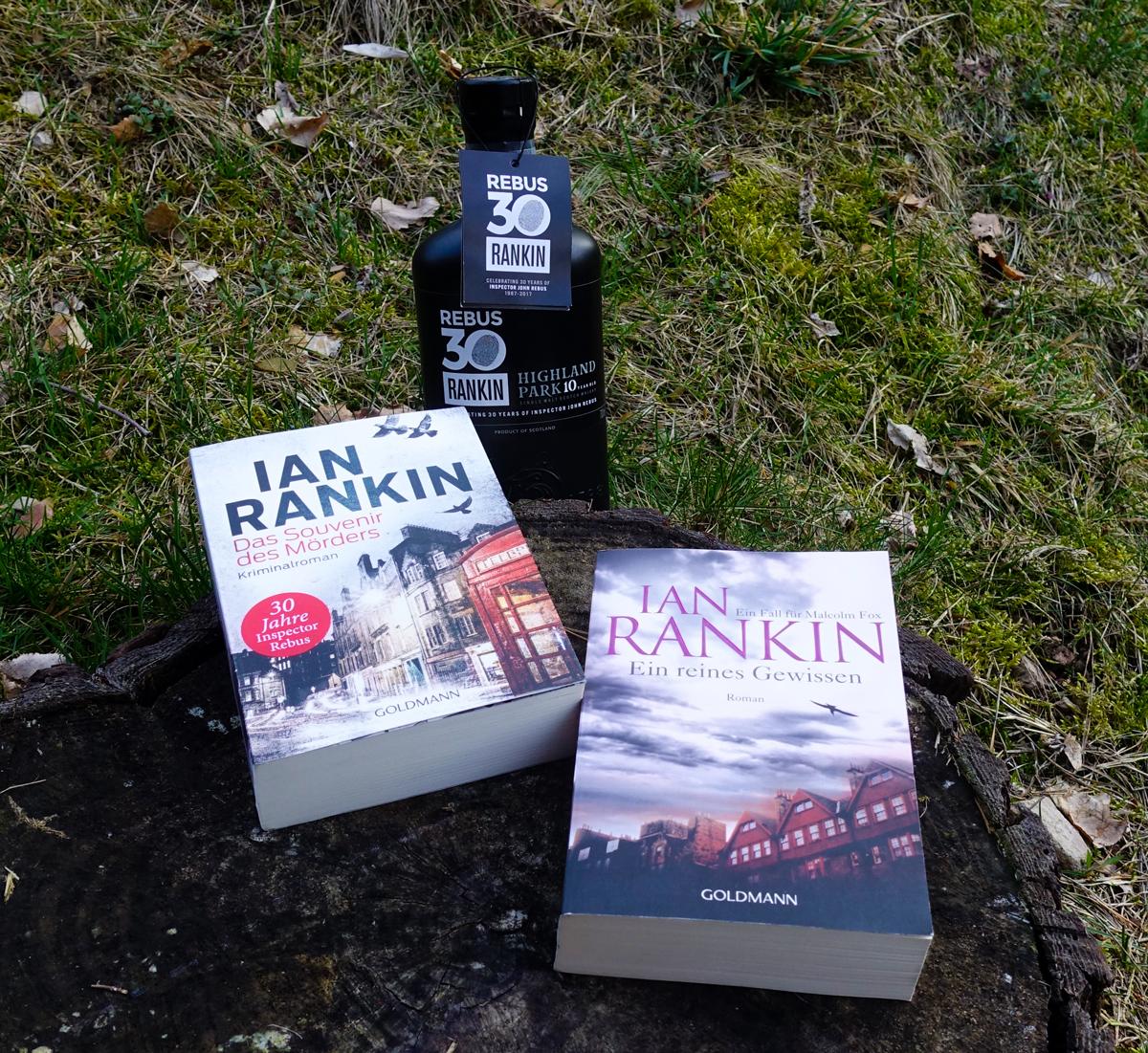 Die Krimis von Ian Rankin mit Inspector Rebus in der Hauptrolle: Ein Whisky ist immer dabei