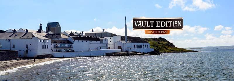 Blick auf die Bowmore Destillerie - Lieferant des neuen Bowmore Vault Nr. 1