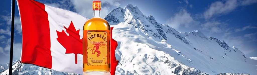 Fireball Whisky ist der feurige Whiskylikör aus Kanada