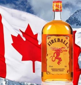 Fireball Whisky: erst mitlachen, dann selber probieren
