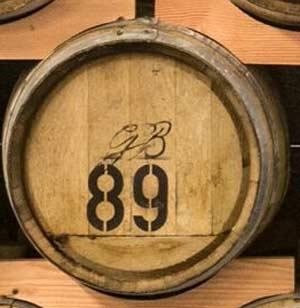 Privates Whiskyfass bei einer deutschen Whisky-Destillerie