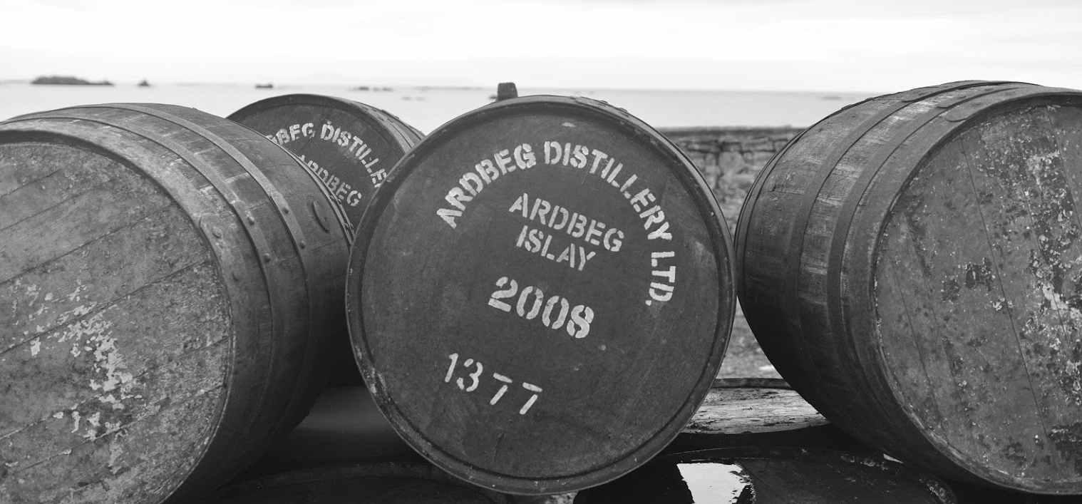 Single Malt Whisky aus Schottland. Ein begehrtes Exportgut.