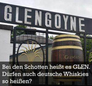 Der Namensstreit Schottland gegen den Rest der Welt. Der EU-Gerichtshof muss entscheiden, ob die kleine Schwarzwald-Destillerie Waldhorn ihren Whisky weiterhin Glen Buchenbach nennen darf oder ob das Wort Glen den Schotten vorbehalten wird.