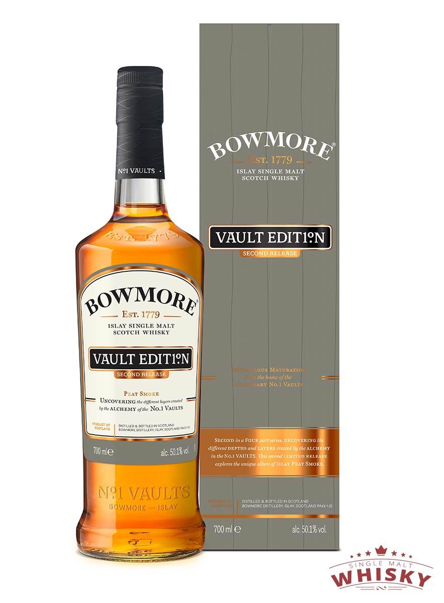 Sehr gefragt: Die zweite Edition der Bowmore Vault Edition Nr. 1 - jetzt kaufen